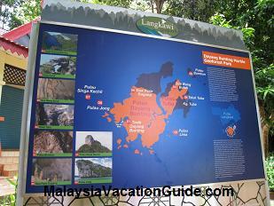 Pulau Dayang Bunting Map
