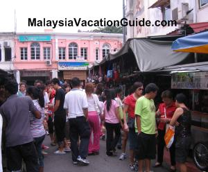 Penang Famous Cendol Hawker Stall