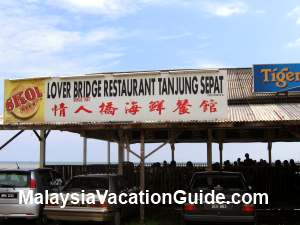 Lover Bridge Restaurant Tanjung Sepat