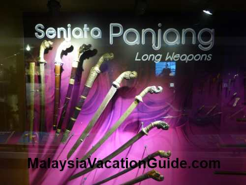 Malay Museum Long Weapons