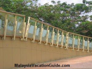 Putrajaya Millenium Monument Transparent Signage