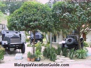 Royal Malaysia Police Museum Tanks