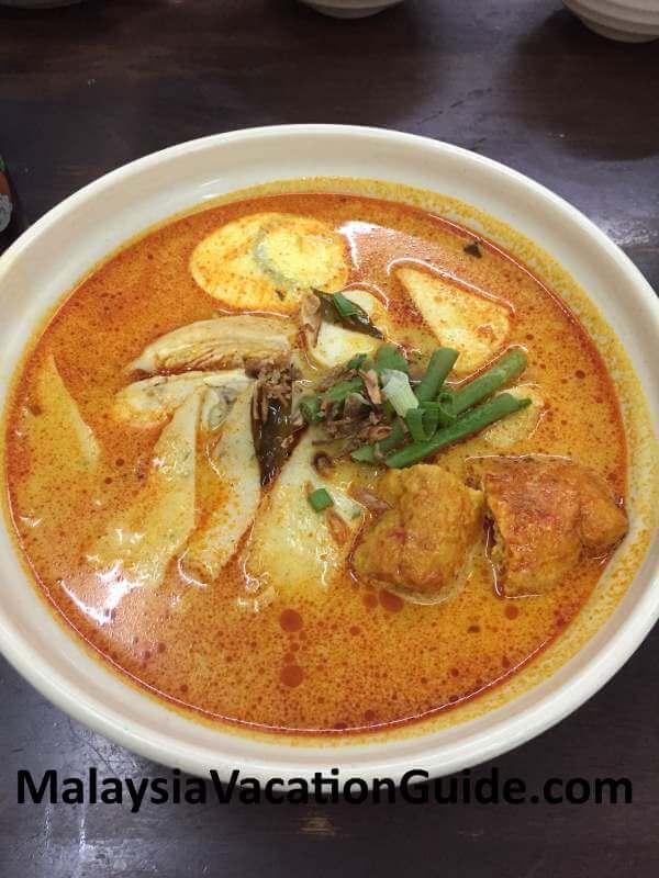 Mei Fong famous curry noodles