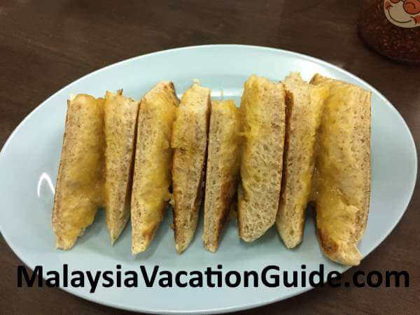 Mei Fong toasted bread with
