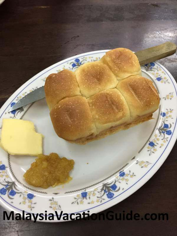 Mei Fong toasted bun with