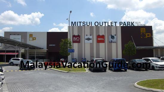 Mitsui Outlet Park Entrance