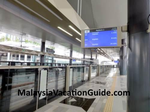 MRT Surian Platform