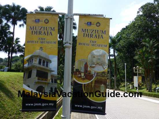 Muzium Diraja Banners