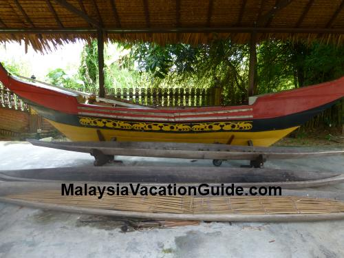 Traditional Boat At Negeri Sembilan State Museum