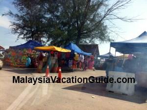 Pantai Remis Beach Stalls