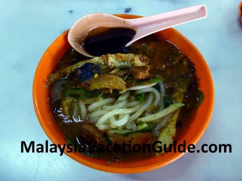 Assam Laksa Noodle
