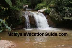 Parit Waterfalls Cameron Highlands