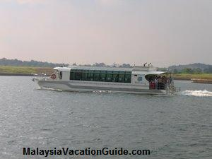 Air conditioned Belimbing Passenger Cruise Boat