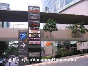 Pavilion KL Parking