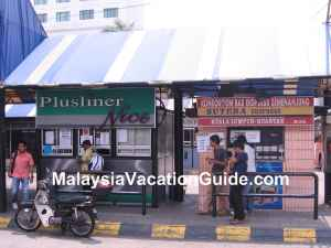 Hentian Pekeliling Bus Terminal Ticketing Counters