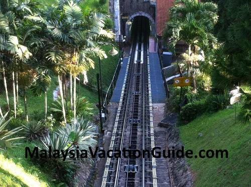 Penang Hill tracks.