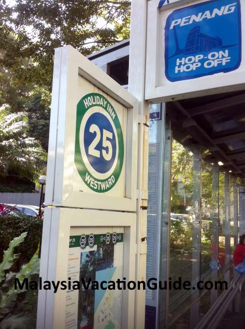 Holiday Inn Penang Bus Stop