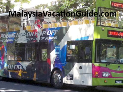 Penang Hop-on Hop-off bus,