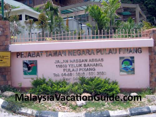 Penang National Park Office