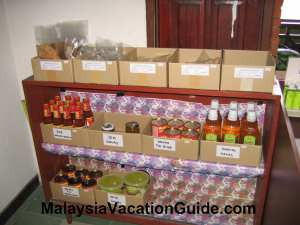 Johor Pineapple Museum Products