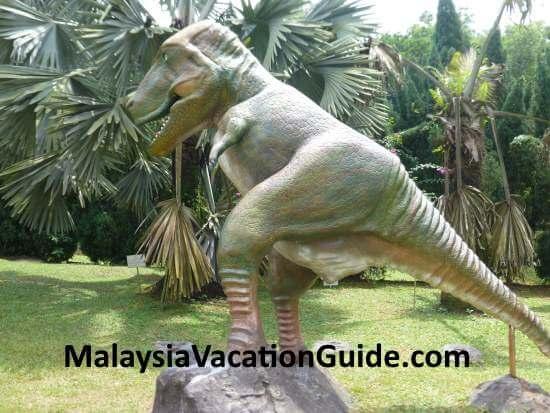 Dinosaur at National Science Center