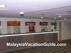 Pudu Sentral Ticketing Counters