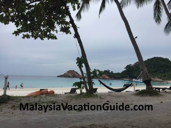 Relaxing view of Redang Beach
