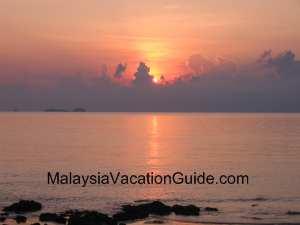 Pulau Sibu Sunrise