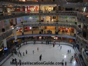 Sunway Pyramid Ice Skating Rink
