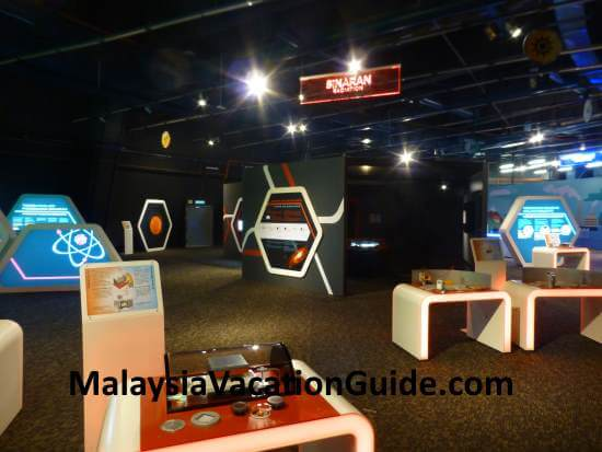 Radiation exhibits at Pusat Sains Negara, Mount Kiara.
