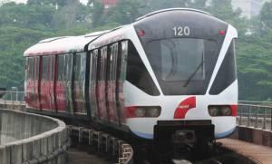 Kuala Lumpur LRT Train