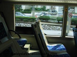 Rapid KL Bus Interior