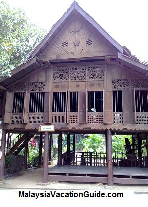Traditional Malay Architecture House