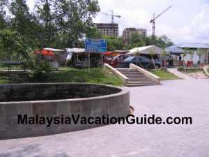 Selayang Hot Spring Food Stalls