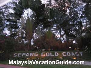 Sepang Gold Coast Signage