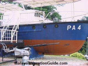 Marine Police Old Boat