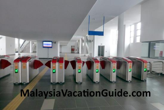 Skypark Terminal Automated Ticketing Machines