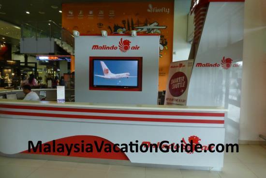Malindo Air Skypark Terminal Service Counters