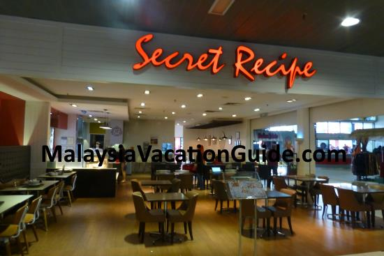 Secret Recipe at Subang Skypark