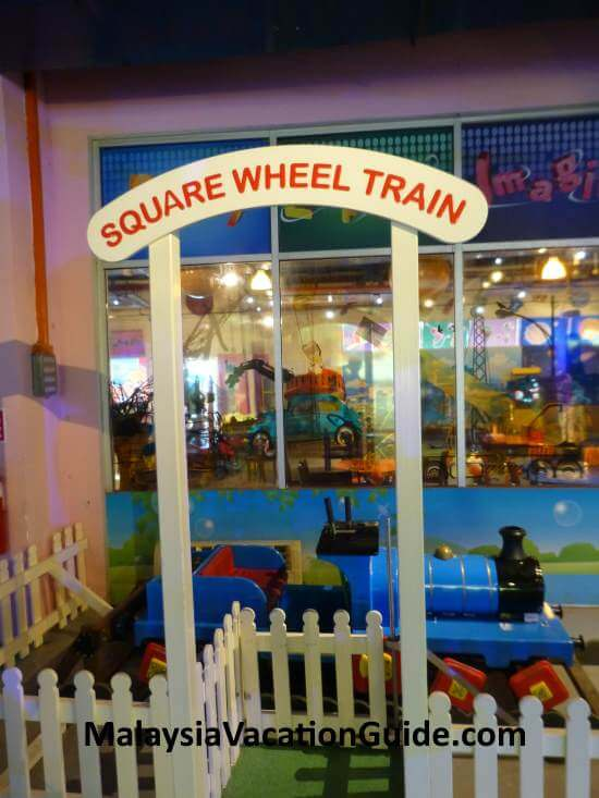 Square Wheel Train