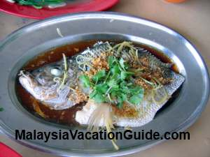 Steam Fish Tanjung Sepat