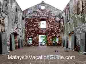 Melaka Saint Paul Church Ruin