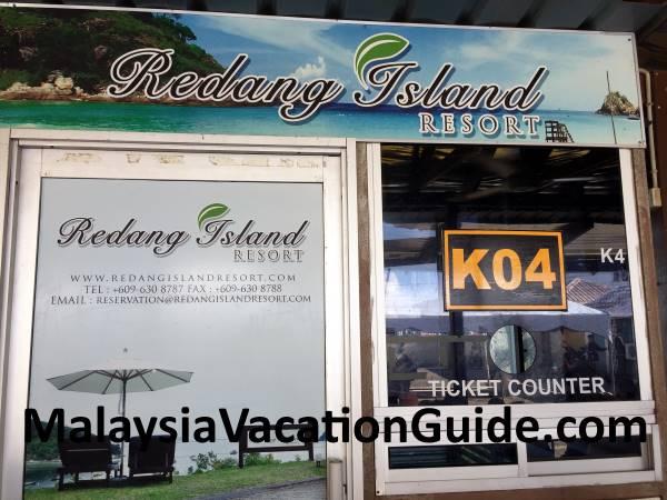 Syahbandar Jetty - Redang Island Resort Counter