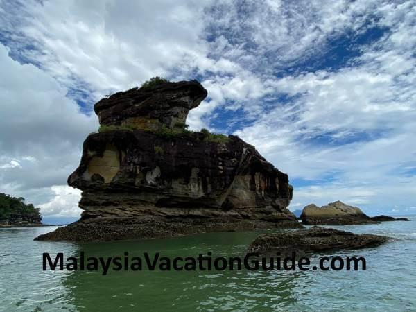 Bako National Park Sea Stack