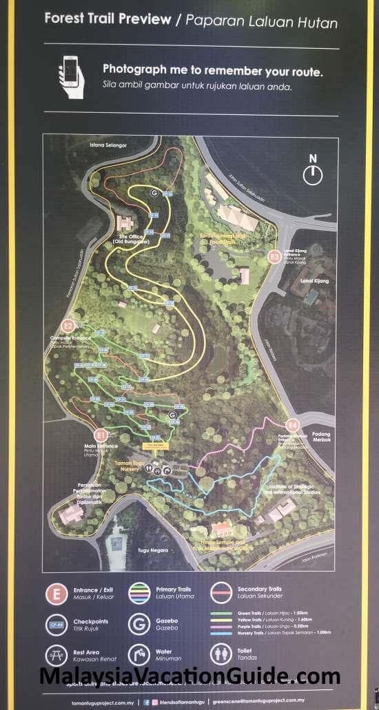 Tugu Park Forest Trail