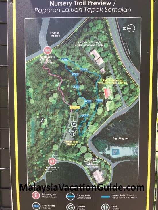 Tugu Park Nursery Trail
