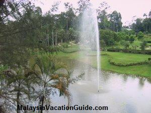 Shah Alam Malaysia  Agriculture Park Fountain