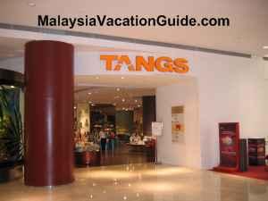 Tangs at Pavilion KL