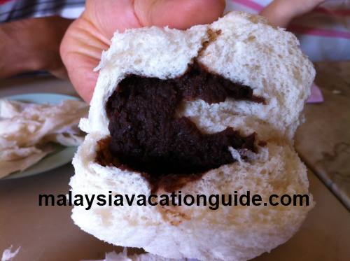 Red bean pau Tanjung Malim