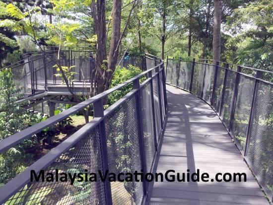 Canopy Walk at Tasik Titiwangsa